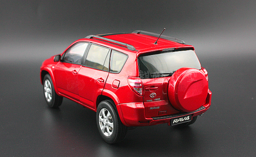 1/18 Dealer Edition Toyota RAV4 RAV 4 3rd Generation (XA30; 2005–2016) (Red) Diecast Car Model