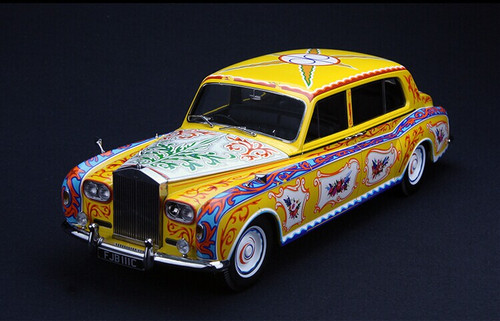 1/18 Paragon 1964 John Lennon Rolls-Royce Phantom V Diecast Car Model