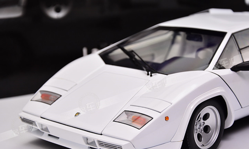1/12 Kyosho Lamborghini Countach LP5000S (White) Diecast Car Model