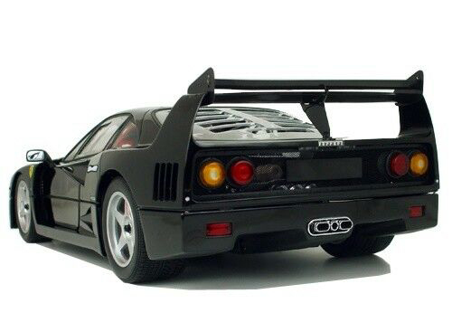 1/12 Kyosho Ferrari F40 (Black) Diecast Car Model