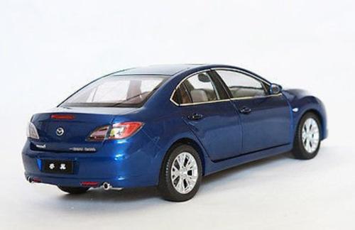 1/18 Dealer Edition Mazda 6 2nd Generation (GH1; 2007–2012) (Blue) Diecast Car Model