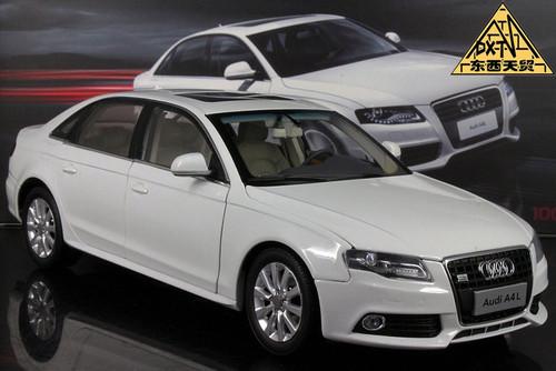 1/18 Audi A4 L (White)