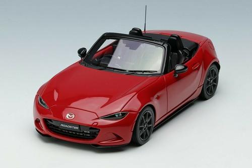 1/43 MAKEUP Make Up Mazda MX-5 MX5 Miata Roaster ND (Red) Diecast Car Model