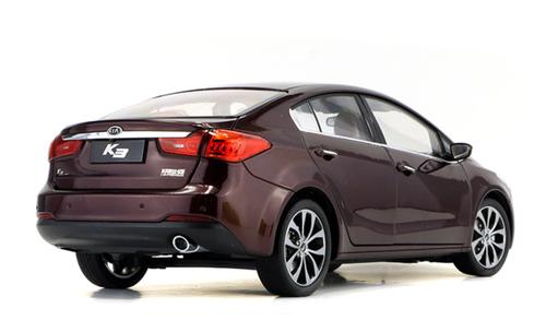 1/18 Dealer Edition Kia K3 / Forte / Cerato (Red) Diecast Car Model