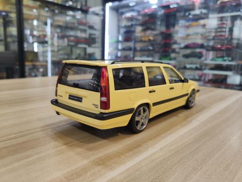 1/18 OTTO Volvo 850 T-5 R (Yellow) Resin Car Model