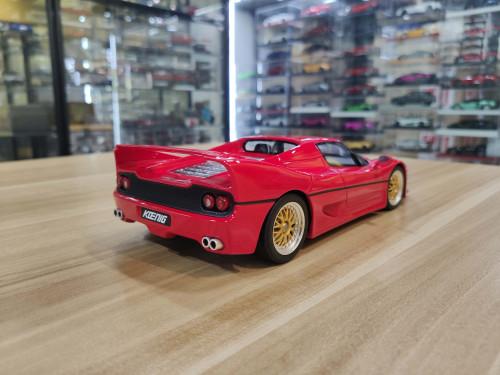 1/18 GT Spirit GTSpirit Ferrari Koenig Specials F50 (Red) Resin Car Model