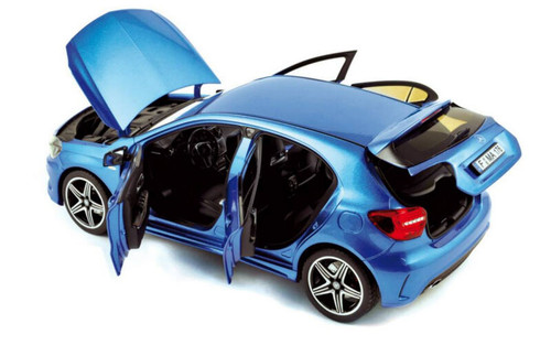 1/18 Norev Mercedes-Benz Mercedes A-Class A-Klasse A250 Sport (Blue) Diecast Car Model