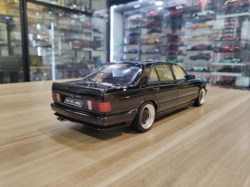 1/18 OTTO Mercedes-Benz Mercedes 560 6.0 SEL AMG W126 (Black) Resin Car Model