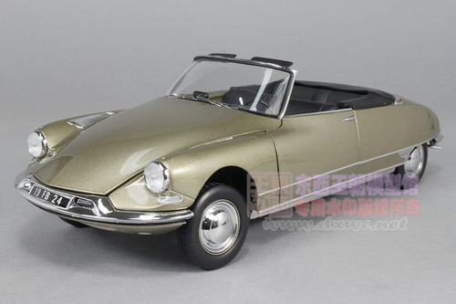 1/18 Norev 1961 Citroen DS19 DS 19 Cabriolet Diecast Car Model