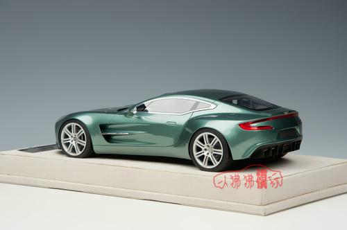 1/18 Tecnomodel Aston Martin One-77 (Green) Resin Car Model