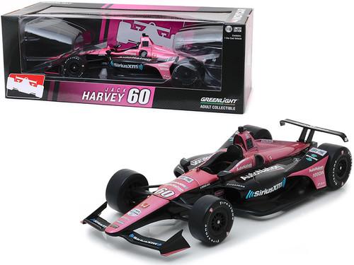 "1/18 Greenlight Honda Dallara Indy Car #60 Jack Harvey ""SiriusXM AutoNation"" Meyer Shank Racing with Arrow Schmidt Peterson Motorsports Diecast Car Model"