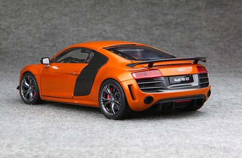 1/18 Kyosho Audi Collection Audi R8 GT (ORANGE) Diecast Car Model