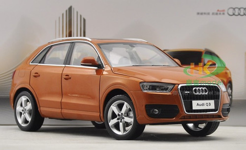 1/18 DEALER EDITION AUDI Q3 (ORANGE) DIECAST CAR MODEL