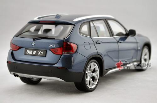 KYOSHO 1/18 BMW X1 (BLUE) DIECAST CAR MODEL