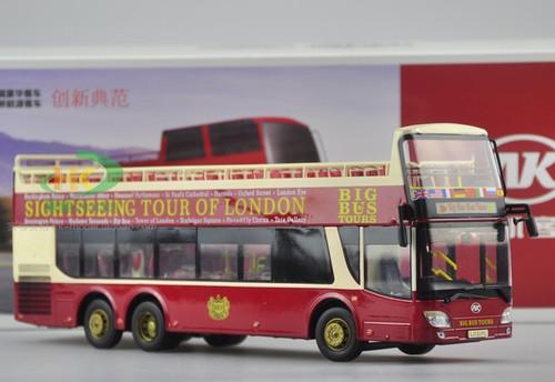 1/43 AK LONDON BIG BUS TOURS DIECAST MODEL (NO HARDTOP VERSION)