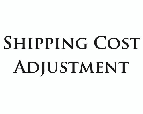 Shipping Cost Adjustment #2