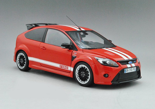 MINICHAMPS 1/18 FORD FOCUS RS 500 LE MANS CLASSIC EDITION (RED) Diecast Car Model