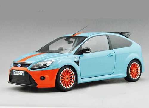 MINICHAMPS 1/18 FORD FOCUS RS 500 LE MANS CLASSIC EDITION (BLUE/ORANGE)
