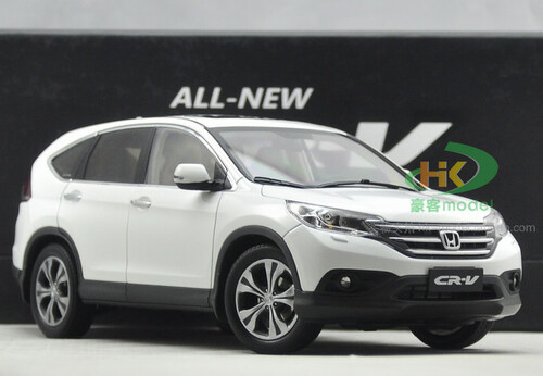 1/18 Dealer Edition Honda CR-V CRV (White) 4th generation (2012–2016) DIECAST CAR MODEL