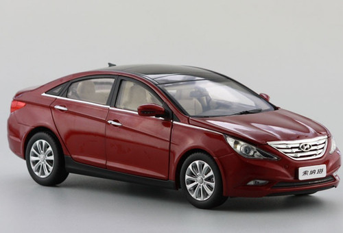 1/18 HYUNDAI SONATA (RED) DIECAST CAR MODEL
