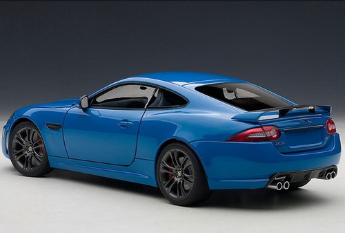 1/18 AUTOART JAGUAR XKR-S (FRENCH RACING BLUE) 73641 DIECAST MODEL