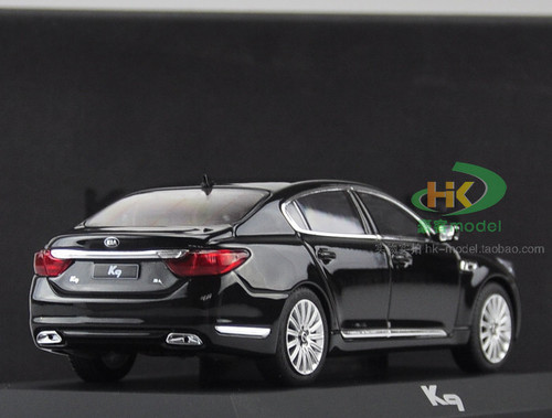 1/32 Dealer Edition Kia K900 / K9 / Quoris (Black) Diecast Car Model