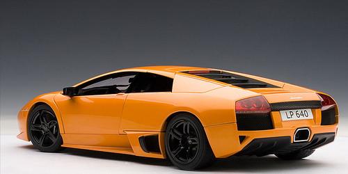 1/18 AUTOart Lamborghini Murcielago LP-640 LP640 (Orange) Diecast Car Model 74622