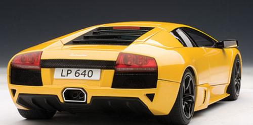 1/18 AUTOart 2006 Lamborghini Murcielago LP-640 LP640 (Giallo Orion / Yellow) Diecast Car Model 74621