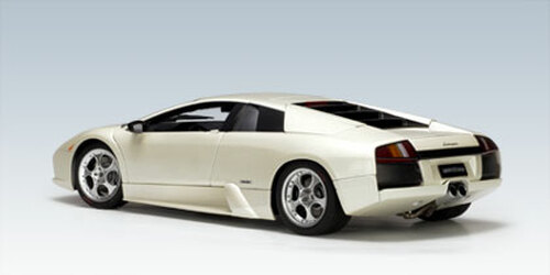 1/18 AUTOart LAMBORGHINI MURCIELAGO WHITE Diecast Car Model 74516