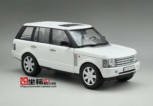 1/18 LAND ROVER RANGE ROVER (WHITE) DIECAST CAR MODEL