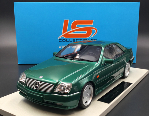 Emerald grün met - LS Collectibles 1:18 L Mercedes-Benz AMG CL600 7.0 Coupe