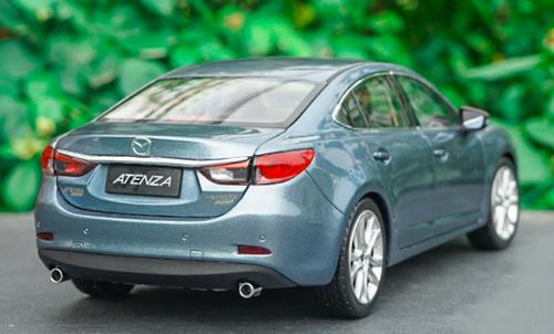 1/18 Dealer Edition Mazda 6 / Atenza (Blue / Grey) Diecast Car Model