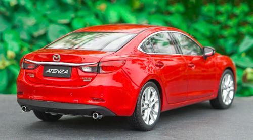 1/18 Dealer Edition Mazda 6 / Atenza (Red) Diecast Car Model