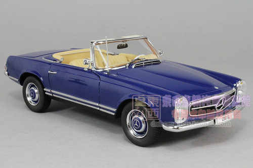 1/18 Norev MERCEDES-BENZ 1963 230SL (BLUE) Diecast Car Model