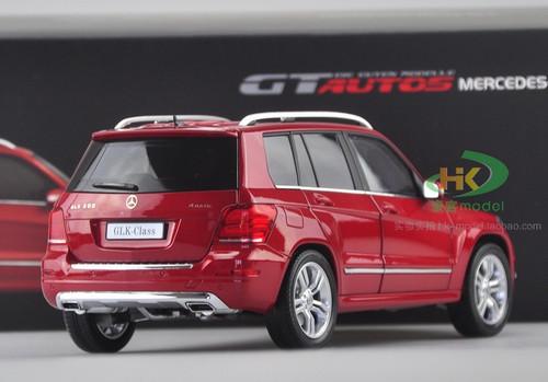 1/18 MERCEDES-BENZ GLK CLASS (RED) DIECAST CAR MODEL