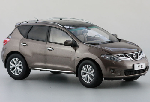 1/18 Dealer Edition 2015 NISSAN MURANO (Grey Brown) DIECAST CAR MODEL