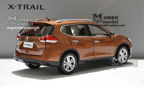 1/18 Dealer Edition Nissan X-TRAIL (Orange) Diecast Car Model