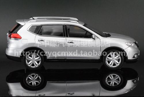 DEALER 1/18 NISSAN X-TRAIL (SILVER) DIECAST CAR MODEL