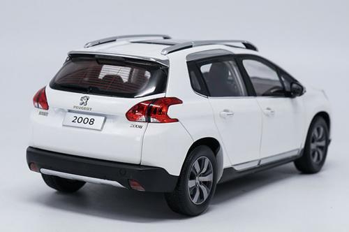 1/18 Dealer Edition PEUGEOT 2008 (WHITE) DIECAST CAR MODEL