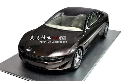 1/18 Pininfarina Cambiano Concept (Brown) Resin Car Model
