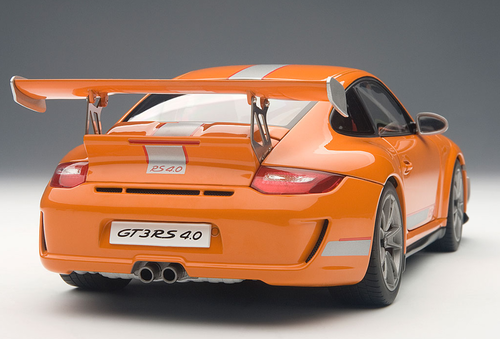 1/18 AUTOART PORSCHE 911 997 GT3 RS 4.0 (ORANGE) Diecast Car Model 78148