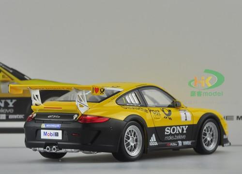 1/18 PORSCHE 911 GT3 CUP (YELLOW) DIECAST CAR MODEL