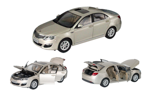 1/16 Dealer Edition Roewe 550 (Champagne) Diecast Car Model