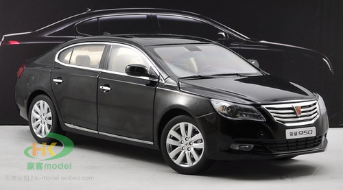 DEALER 1/16 ROEWE 950 (BLACK) DIECAST CAR MODEL