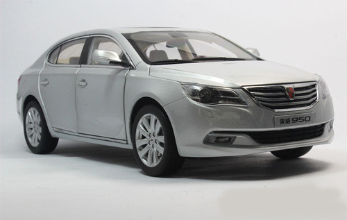 DEALER 1/16 ROEWE 950 (SILVER) DIECAST CAR MODEL