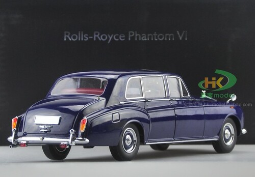 1/18 1967 ROLLS-ROYCE PHANTOM VI HARDTOP (BLUE) Diecast Car Model
