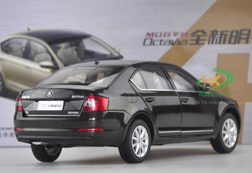 1/18 SKODA OCTAVIA (BLACK) DIECAST CAR MODEL