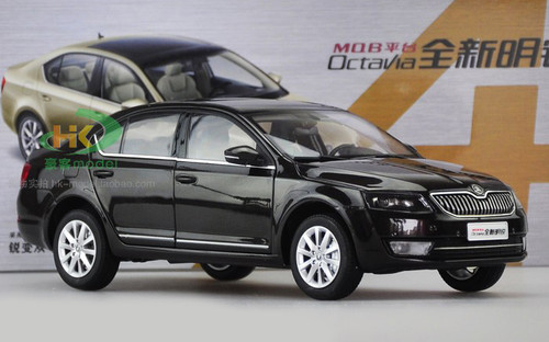 1/18 Dealer Edition SKODA OCTAVIA (Black) Diecast Car Model