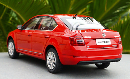 1/18 Dealer Edition SKODA OCTAVIA (Red) Diecast Car Model