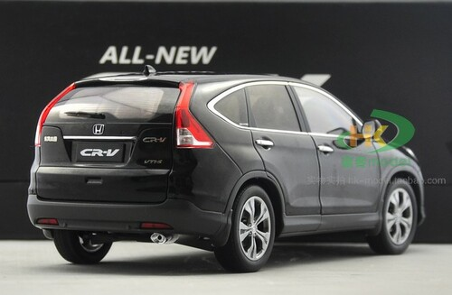1/18 Dealer Edition Honda CR-V CRV (BLACK) 4th generation (2012–2016) DIECAST CAR MODEL